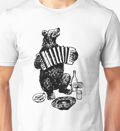 Misha the accordion player Unisex T-Shirt