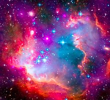 Small Magellanic Cloud - SMC Galaxy by Ram Vasudev