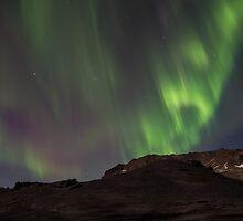 mountain eruption by JorunnSjofn Gudlaugsdottir