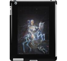 apocalyptic horseman on the moon - modern apocalypse iPad Case/Skin