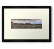 Wilderness Plains Framed Print