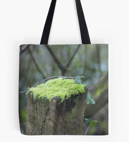 Mossy cap Tote Bag