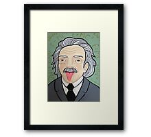Smart Pants Einstein  Framed Print