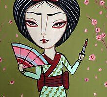 Geisha Samurai by Stolensouljess