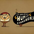 Human Cannonball by SteveOramA