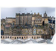 The auld toon from the Princes mall Poster