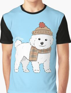 Bichon Freezing! Graphic T-Shirt