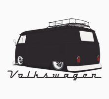 Volkswagen Bus-Dark Kids Tee