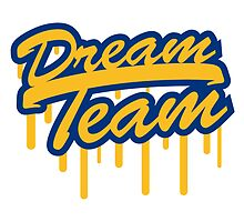 Stamp Graffiti Logo Design Dream Team Freunde Few by Style-O-Mat