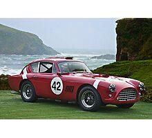 1950's Vintage Race Car No. 42 Photographic Print