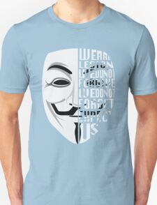 Just My Type: Anonymous T-Shirt