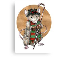 Yuletide Mouse Canvas Print