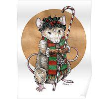 Yuletide Mouse Poster