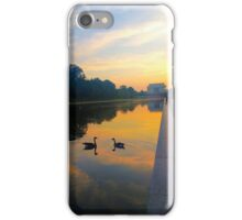 Reflection Pool Washington, DC iPhone Case/Skin