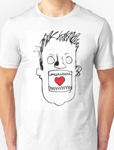 Heart In Gob. Its a love thing. T-Shirt