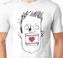 Heart In Gob. Its a love thing. Unisex T-Shirt