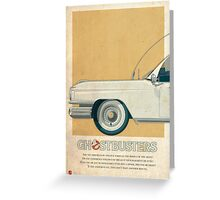 Ecto-1 triptych I of III Greeting Card