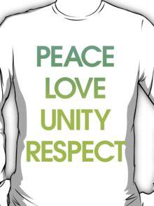 Peace Love Unity Respect (PLUR) T-Shirt