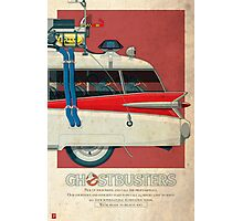 Ecto-1 triptych III of III Photographic Print