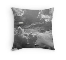 They live in the sky Throw Pillow