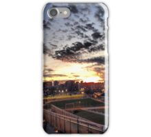 Sunset Above City iPhone Case/Skin