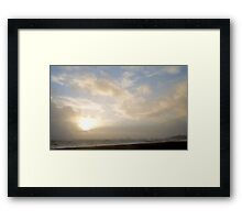 Between the Storms Framed Print