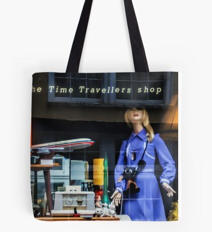 The Time Travellers Shop Tote Bag