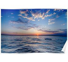 Peaceful Lake Okoboji Poster