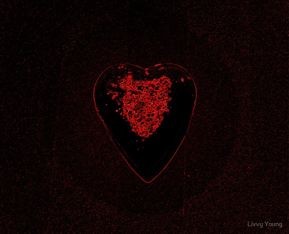 Beating Heart. by Livvy Young