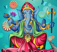 Ganesh Ji - Blue Edition by Vik Kainth