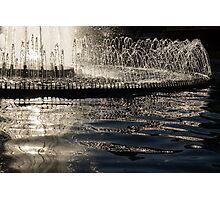 Joyful Sunny Splashes Photographic Print