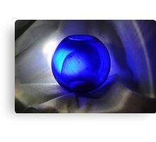 A Blue Sphere Canvas Print