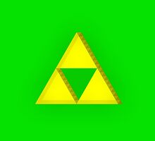 Triforce Samsung Galaxy 3 & 4  by Pixelcoderus