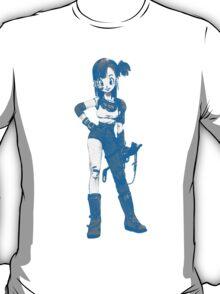 bulma blue with gun T-Shirt