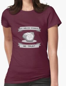 Helix Fossil Womens Fitted T-Shirt