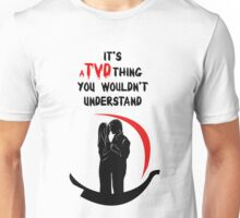 It's a TVD thing! Delena T-Shirt Unisex T-Shirt
