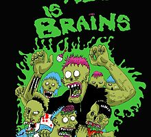All we need is brains by donramos