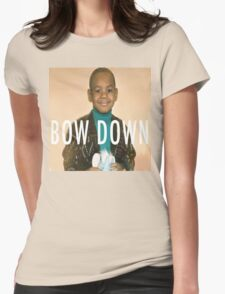 Lebron Bow Down  Womens Fitted T-Shirt