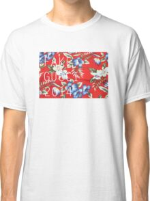 Fake Gucci 2014 Floral Print Tee Classic T-Shirt