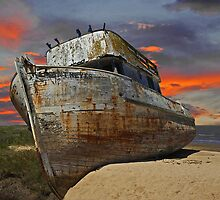 Beached and Abandoned I by DaveKoontz