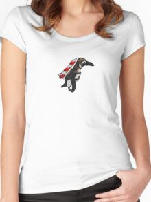 Batman Penguin Women's Fitted Scoop T-Shirt