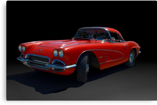 1961 Corvette by TeeMack
