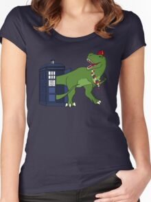 "The ""Rex"" Doctor Women's Fitted Scoop T-Shirt"
