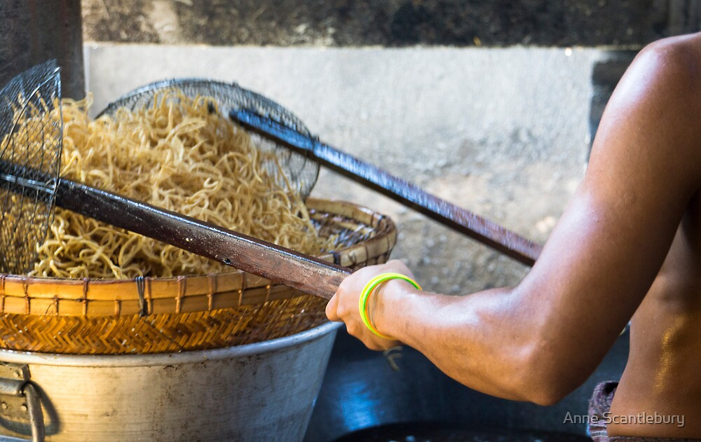 noodles by Anne Scantlebury