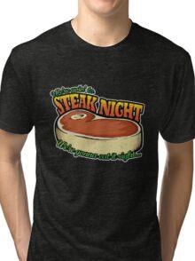 Scrubs - Steak Night Tri-blend T-Shirt