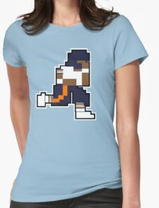 Nintendo Tecmo Bowl Chicago Bears Walter Payton Womens Fitted T-Shirt