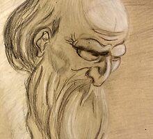 Old Man Study by Christopher Griskie