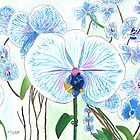 Blue Orchids by zfollweiler