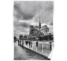 Notre-Dame in HDR Poster