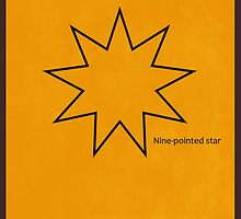 Nine-Pointed Star - Baha'i by KRPace